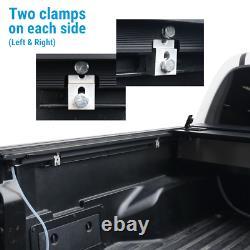 Pour 2016-2021 Tacoma 5ft Bed Tonneau Cover Aluminium Retractable Roll Waterproof