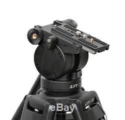 Professional Heavy Duty DV Video Trépied Avec Fluid Kit Pan Head 72 Pouces