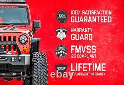 Rough Country Heavy Duty Tie Rod Kit (ajustements) 97-06 Jeep Wrangler Tj Xj Mj