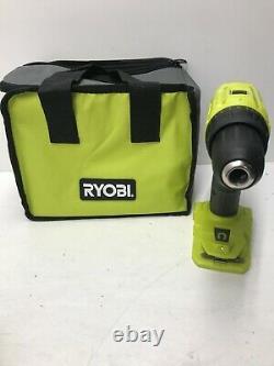 Ryobi P215k1 18-volt One+ Lithium-ion Cordless 1/2 In. Kit Conducteur De Forage N
