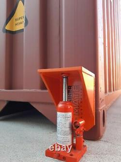 Shipping Container Transport Roues Complètes Kit Heavy Duty Déplacer 20 / 40ft Container