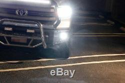 Support De Montage Cree Led 40w Avec Supports De Projecteur Antibrouillard Pour Toyota Tundra À 14 Places