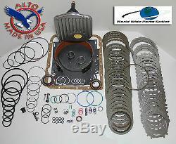 Th700r4 Rebuild Kit Heavy Duty Heg Kit Maître Étape 3 With3-4 Power Pack 1987-1993