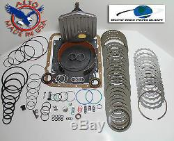 Th700r4 Rebuild Kit Heavy Duty Heg Ls Kit Stage 3 With3-4 Power Pack 1987-1993