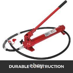 Vevor 10 Ton Porta Power Hydraulique Jack Auto Body Frame Repair Kit Lift Ram