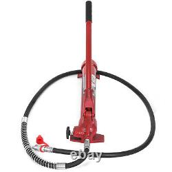 Vevor 10 Tonnes Porta Power Hydraulic Jack Auto Body Frame Kit De Réparation Lift Ram