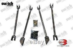 Weld Universal Sur Triangulé 4 Link Kit Heavy Duty 1.5 Dom Niveau 8 Matériel