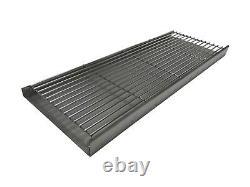 XL Acier Inoxydable Diy Brick Bbq Heavy Duty Charcoal Grate & Tray Kit 112cm
