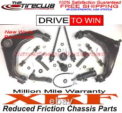 Xrf Lifetime Ball Joint Control Arm Idler Arm Tie Rod Kit 01-10 Chevy Gmc 2500hd