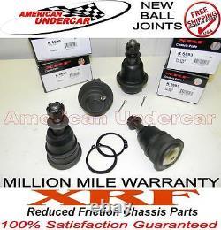 Xrf Lifetime Ball Joint Kit Silverado 2500 3500 4x4 & 2wd 2 Supérieur 2 Inférieur 99-10